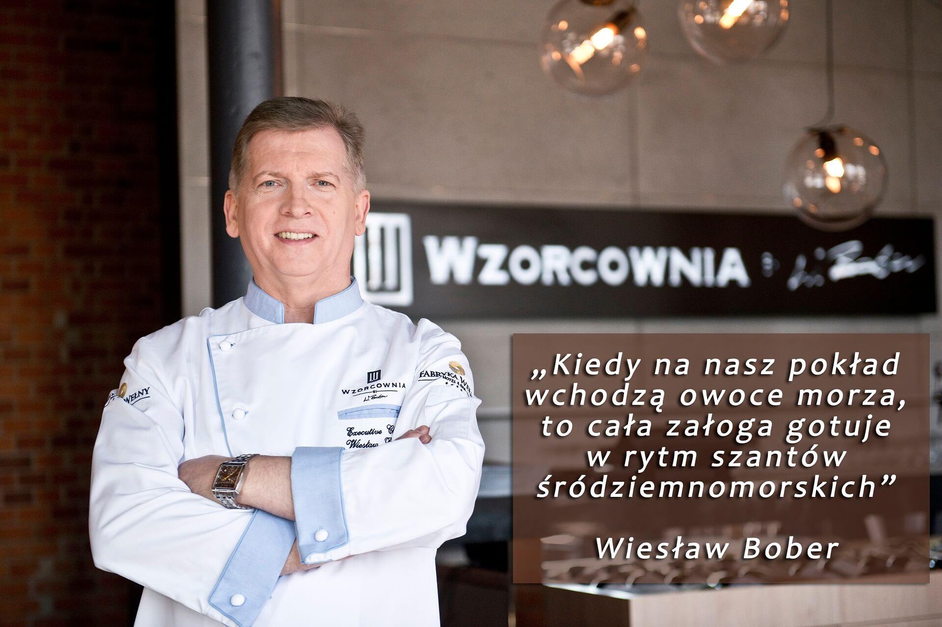 Owoce morza w autorskiej restauracji Wzorcownia