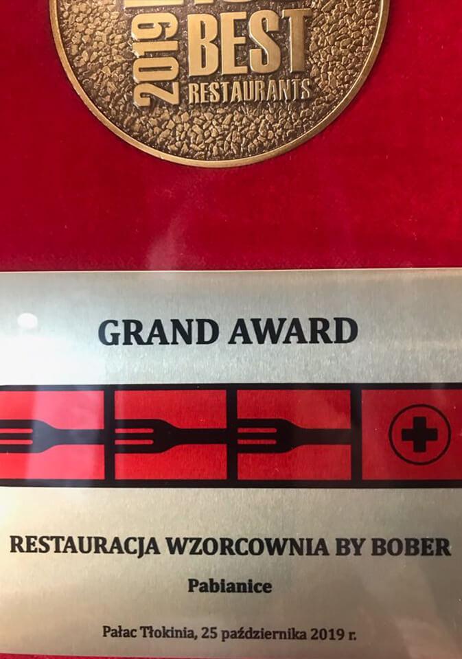 Wiesław Bober_Restauracja Wzorcownia Grand Award 2019
