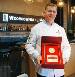 Grand Award_Restauracja Wzorcownia_Osiągnięcia Wiesława Bobera