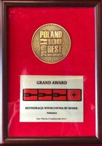 Grand Award_Restauracja Wzorcownia by Wiesław Bober Pabianice 2019